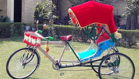 Decorated Rickshaw