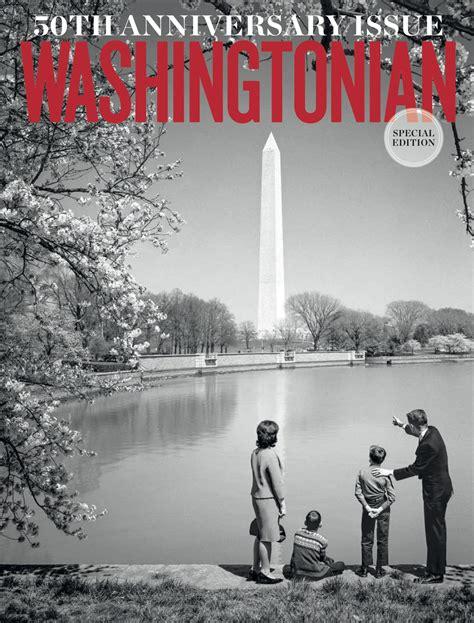 washingtonians  anniversary cover washingtonian dc