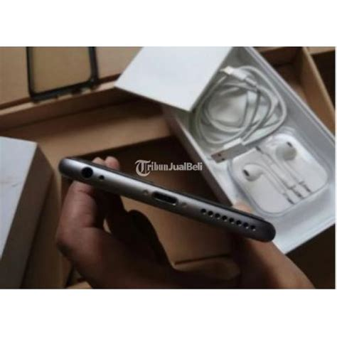 Iphone 6 Plus Bekas iphone 6 plus 16gb space grey fullset fu second harga