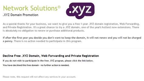 xyz domain  offer today domain
