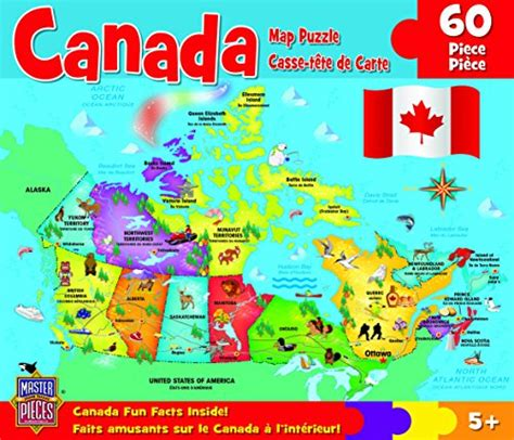 canadian map puzzle picture of masterpieces puzzle company canada map jigsaw