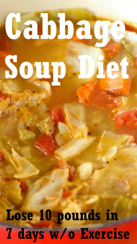 10 Pounds In 7 Days Detox by Cabbage Soup Diet For Weight Loss Want To Lose 10 15