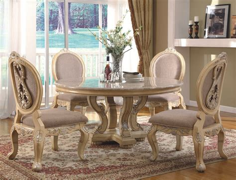 white dining room table set antique white dining room table and chairs alliancemv