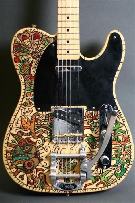 Handmade Telecaster - guitar designs handmade guitar paintings and