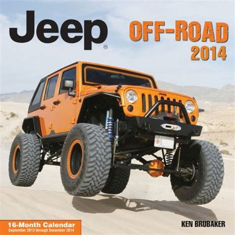 Brubaker Jeep All Things Jeep Jeep Road 2015 16 Month Wall Calendar