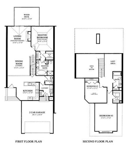 cardiff residence floor plan townhome plans