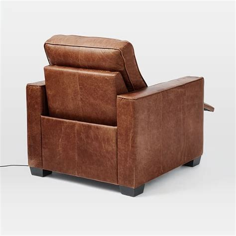 Recliner Power Chair by Henry 174 Leather Power Recliner Chair West Elm