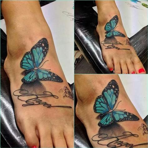 butterfly tattoo in feet the 25 best butterfly foot tattoo ideas on pinterest
