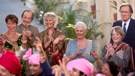 the best marigold hotel the second best marigold hotel hbo