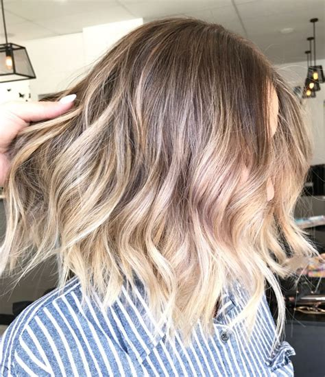 short hair blonde and brown colors the 25 best ideas about short balayage on pinterest