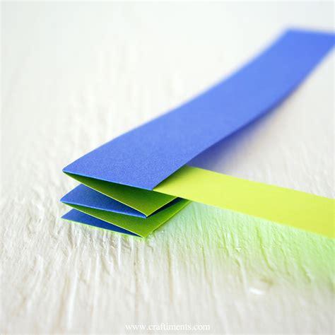 Craftiments: Accordion Fold Paper Garland Tutorial A-paper