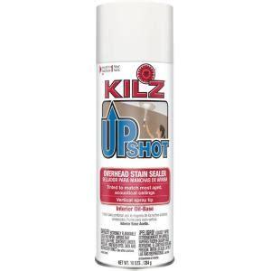 kilz upshot 10 oz overhead based interior stain