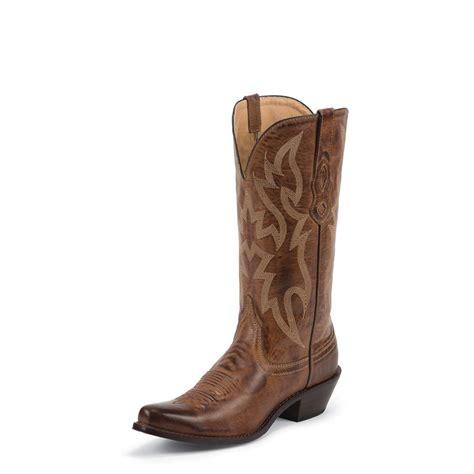 Tanned Cowhide s nocona posh deer tanned cowhide western boots deer 661011 cowboy