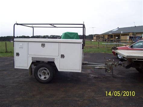 truck bed trailer cer utility service body trailer screen team pinterest
