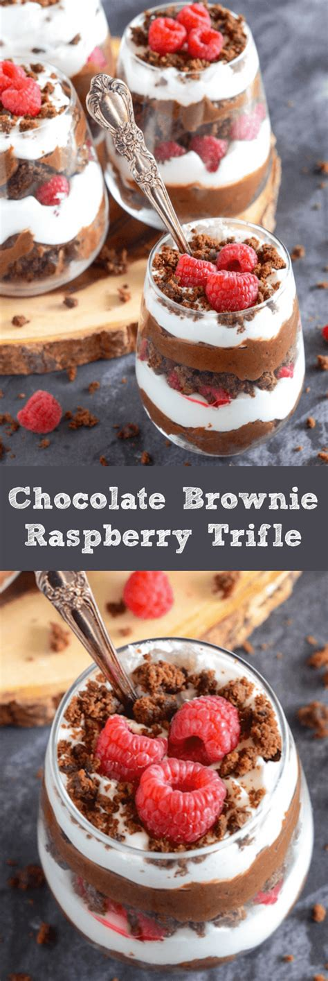 15 Ingredients And Directions Of Chocolate Raspberry Trifle Receipt by Chocolate Brownie Raspberry Trifle The Novice Chef