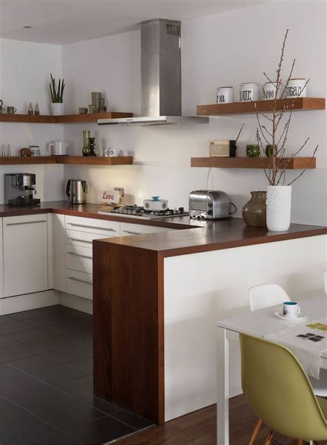 small space mid century kitchen designs bold wooden