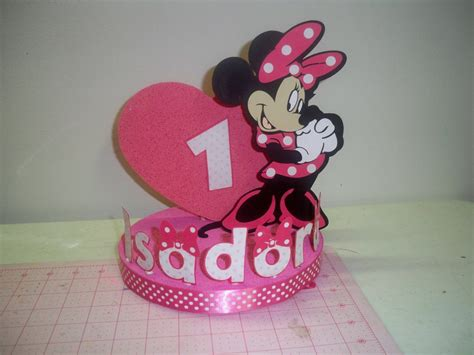 Topper Cake Minnie Mouse minnie mouse birthday cake topper decoration