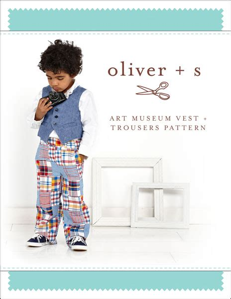 pattern review oliver s oliver s os041am art museum vest trousers