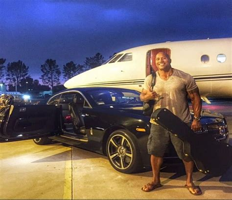 roll royce garage dwayne quot the rock quot johnson s exotic car garage
