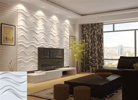 contoh desain ruang tamu mewah panel dinding dindingrumah