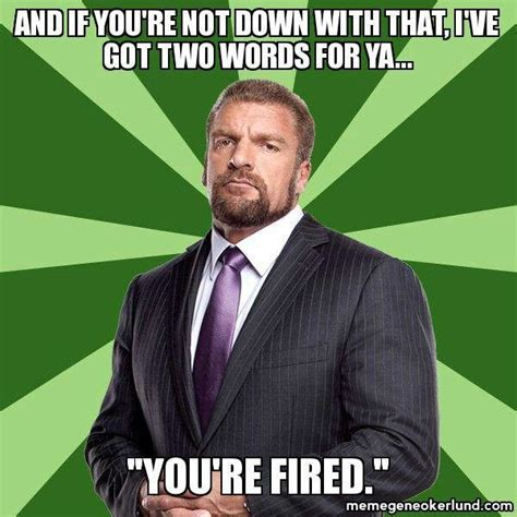 Triple H Memes - big baddy triple h art pinterest triple h
