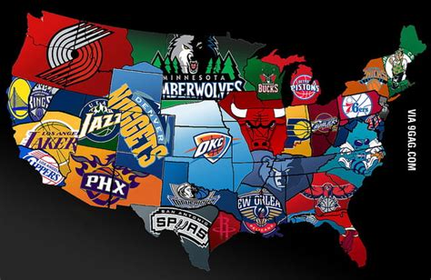 nba usa map nba map of america 9gag