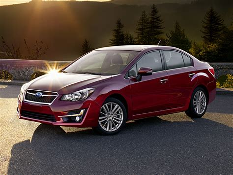 subaru sedan 2015 subaru impreza price photos reviews features