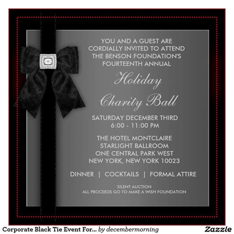 corporate event invitation template formal event invitation card sample google search