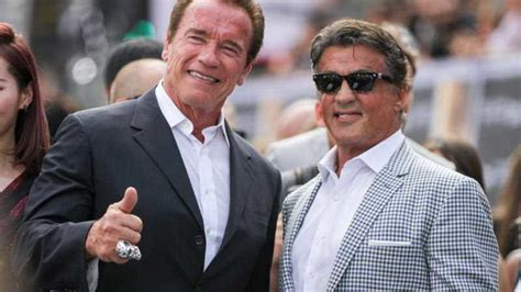 arnold schwarzenegger sylvester stallone at 70 arnie and stallone the away