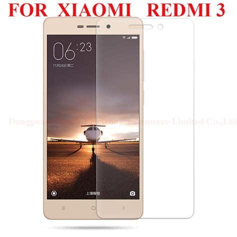 Tempered Glass For Xiaomi Redmi 3 9h Arch Edge for xiaomi redmi mi2 redmi note 3 pro screen protector