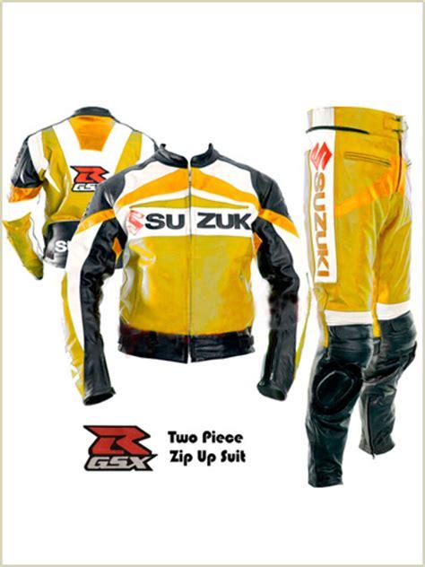 Motorrad Lederkombi F Rben by Suzuki Gsxr Motorrad Lederkombi Gelbe Farbe