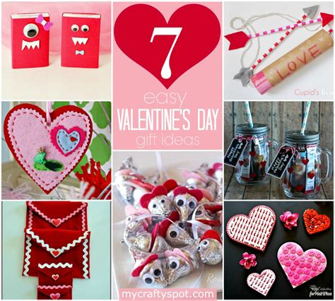 Handmade Valentines Day Gift Ideas - easy diy s day gift ideas my crafty spot