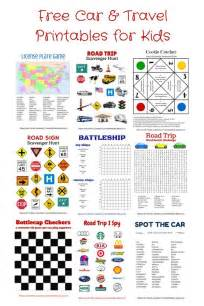 printable road trip games for tweens free printable travel games for kids free cars car