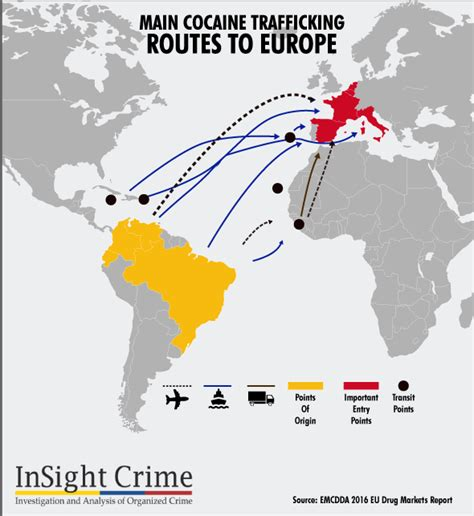 latest trends in europe latest trends in cocaine trafficking to europe global