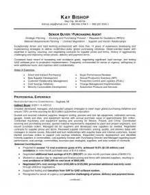 the most brilliant purchasing agent resume sample resume