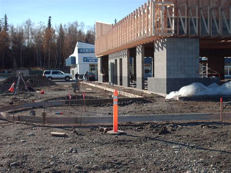 Central Plumbing Heating Anchorage by Brand New Commercial Building In Wasilla Nearing