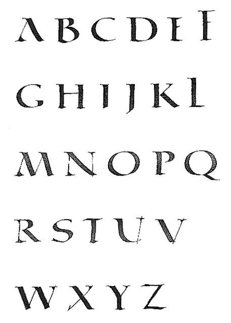 Exemple De Lettre Latine La Quadrata Une 233 Criture Romaine Quadrangulaire Inspir 233 E De La Capitale Romaine