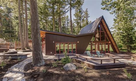 A Frame Cabin Additions by Residential Additions Le Baron Aia