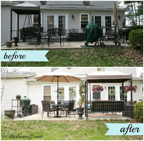 Patio Designs Before And After Patio Makeoverdiy Show Diy Decorating And Home