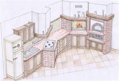 costruire cucine in muratura costruire una cucina in muratura il fai da te