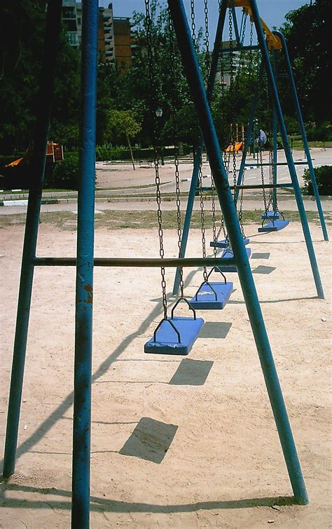 Swing Facts File Blue Swings In Spain Jpg