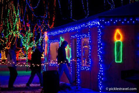 Mankato Light Show by Mankato Kiwanis Lights Pickles Travel For