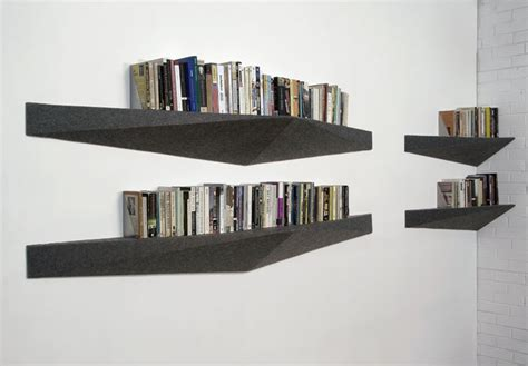 cool shelving home design contemporary corner black wall mount