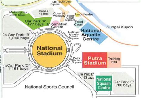 Stadium Plan national stadium floor plan venue directory