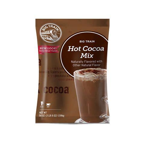 big train hot chocolate big train hot chocolate 3 5 lb bag baristaproshop