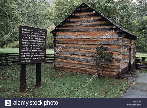 Lincoln Cabin Kentucky by Usa Kentucky Abraham Lincoln Birthplace National