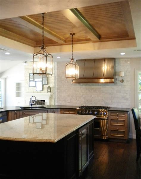 tray ceiling kitchen kitchen tray ceiling design ideas page 1