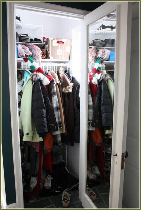 Coat Closet Organization Systems Stairs Coat Closet Organization Home Design Ideas