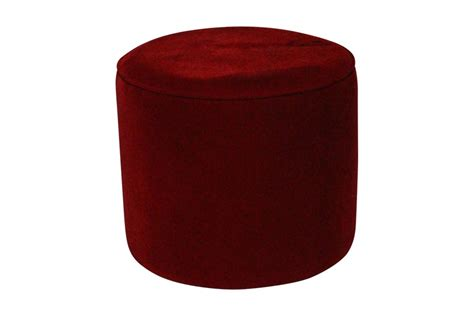 red velvet ottoman red velvet round ottoman images