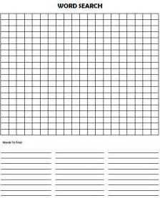 word search template blank crossword template for children autos post